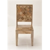 "Benzara Wood Chair 22""W, 42""H"