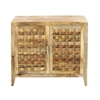 Designer Wood Cabinet, Brown