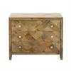 Swank Wood Chest, Brown