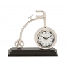 Benzara The Cute Metal Cycle Table Clock
