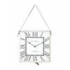 Benzara The Stylish Stainless Steel Wall Clock