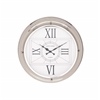 Benzara The Modern Stainless Steel Wall Clock