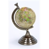 Benzara Aluminum Globe For Kids Pursuing Geography