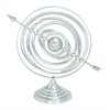 "Aluminum Armillary 20""W, 17""H Nautical Maritime Decor"