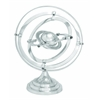 "Aluminum Armillary 15""H, 12""W Nautical Maritime Decor"