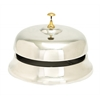 "Benzara Aluminum Desk Bell 11""W, 8""H Nautical Maritime Decor"