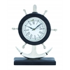 Benzara Metal Anchor Clock With Attractive Design & Sturdy Base