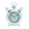 Benzara Beautiful Metal Clock With Display Numbers & Snooze Buttons