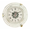 Benzara D Metal Port Hole Clock With A Sparkle