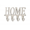 "Aluminum Home Wall Hook 12""W, 6""H"