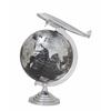 """Benzara Aluminum Pvc Globe 17""""W, 26""""H"""