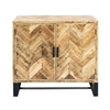 Delightful Wood Cabinet, Black
