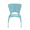 Benzara Spectacular Metal Chair