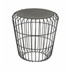 Benzara Artistic Metal Accent Table