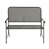 Benzara Stunningly Styled Metal Bench
