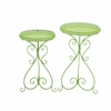 Benzara Alluring Set Of 2 Metal Plant Stand