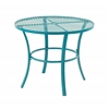 Benzara Attractive Metal Round Outdoor Table