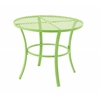 Benzara Captivating Metal Round Outdoor Table