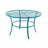 Benzara Beautiful Metal Round Outdoor Table