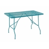 Benzara Quirky Metal Folding Outdoor Table