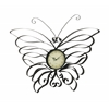 Benzara Gorgeous Metal Butterfly Wall Clock
