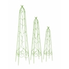 Benzara Charming Set Of 3 Metal Trellis