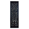 Benzara Ebony Black Hand Carved Wood Wall Decor Sculpture