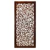 "Benzara Elegant Wall Sculpture - Wood Wall Panel 51""H, 24""W"
