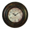 Benzara Metal Wall Clock Long Lasting Utility Product
