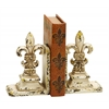 "Benzara Library Polystone Bookend Pair 11""H, 9""W"