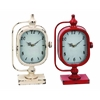 Benzara Clock With Solid Construction In Worn Out Look - Set Of 3