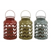 Benzara The Timeless Metal Candle Lantern 3 Assorted