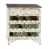"Classic Wood Wine Cabinet 32""H, 28""W"