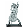 Polystone Stylish Bass Musician Décor With Fine Detailing