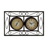 Benzara Attractive Unique Styled Metal Wall Clock