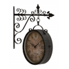 Benzara Artistic And Antique Themed Double Side Clock