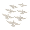 "Benzara Amazing Aluminum Bird Decor Set Of 7 16"",14"",12"",10""W"