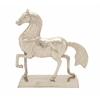 """Aluminum Horse 38""""W, 42""""H"""