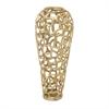 Marvelous Aluminum Decorative Gold Vase, Gold