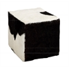 Benzara The Comfortable Wood Square Goat Stool