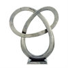 Attractive Aluminum Sculpture, Silver