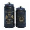Benzara Canisters With Classic And Old-World Appeal - Set Of 2