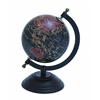 Benzara Elegant Metal Wood Globe With Contemporary Elegance