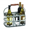 "New Metal Wine Holder 13""W, 7""H"