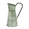 Benzara Galvanized Watering Jug With Classic Style Design