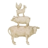 Trendy PS Stacking Animals, White