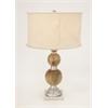 Vogue Aluminum Wood Table Lamp