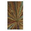 Benzara Big Size Hand Painted Rectangle Shaped Abstract Wall Decor