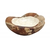 Benzara High Quality Teak Wood Bowl With Minimalist Design In Medium Size