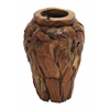 Benzara Small Size Durable Diyang Vase With Spark Hint Of Daintiness